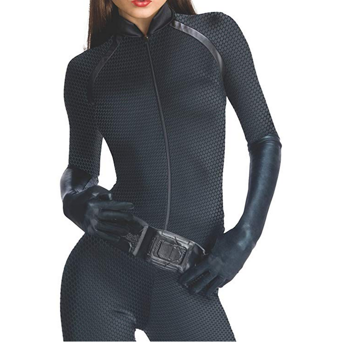 Sexy Black Adult Catwoman Jumpsuit Costume  Costumes Edgy Couture