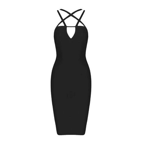 'Hermoine' Cut Out Mini Bodycon Dress