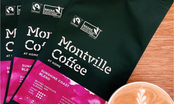 The progression of the Montville Coffee Label over the past two decades