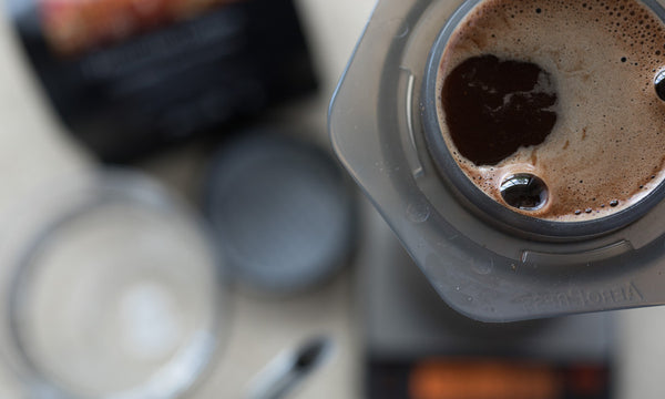 How to make an espresso with an Aeropress in 60 seconds