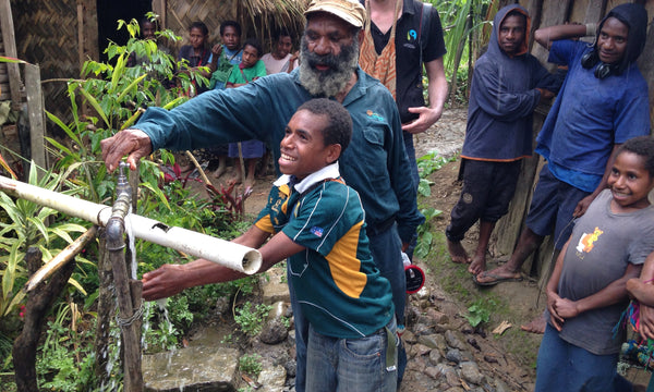 Fairtrade trip to Origin in Papua New Guinea