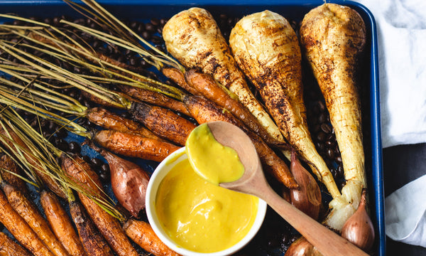 Sweet, smokey and earthy roasted carrots