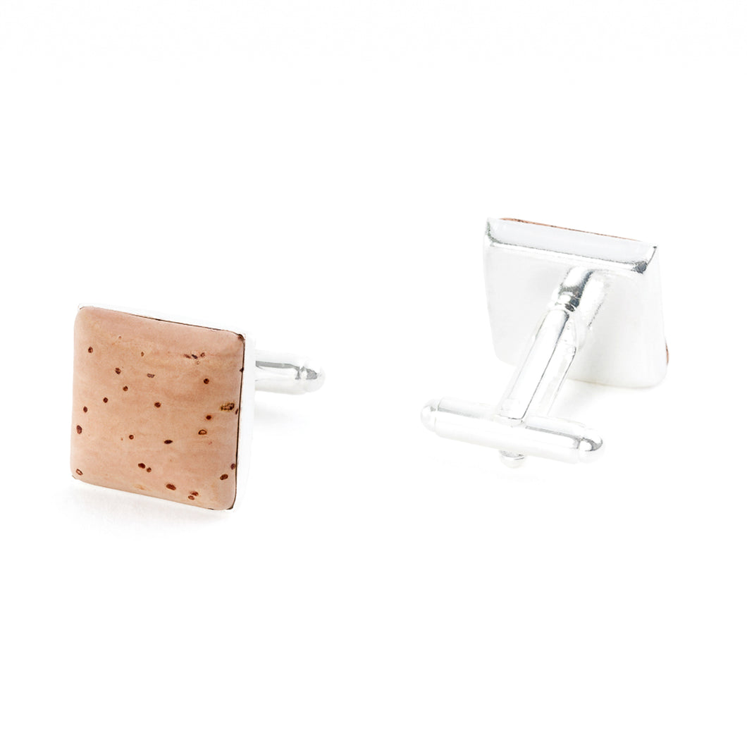 Square cufflinks (1110NAT)