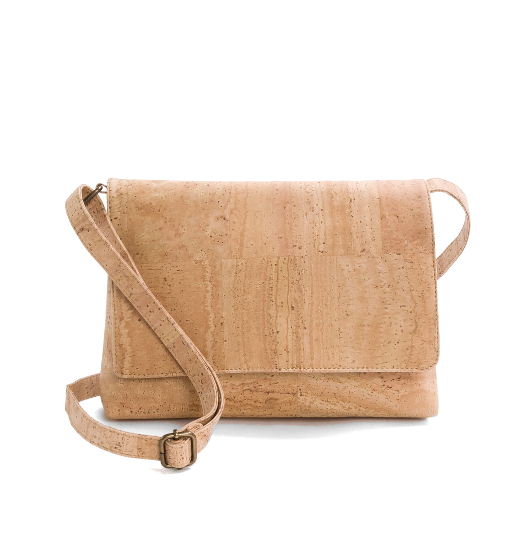Classic crossbody bag (695NAT)
