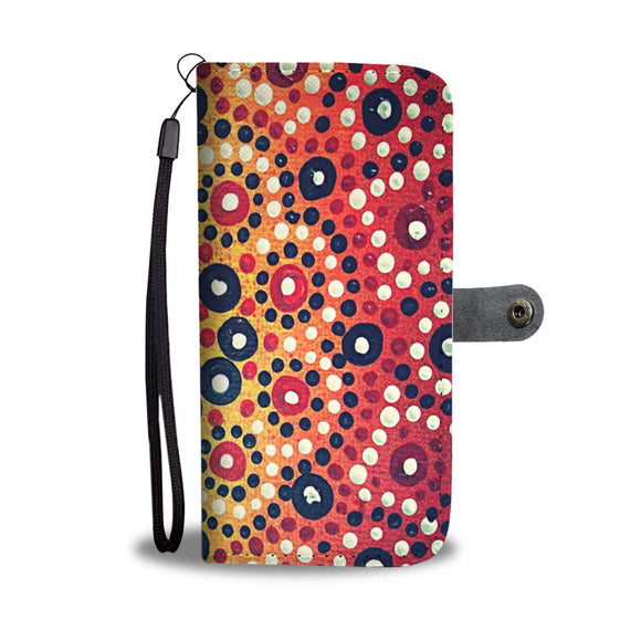 indigenous Design Wallet Phone Case