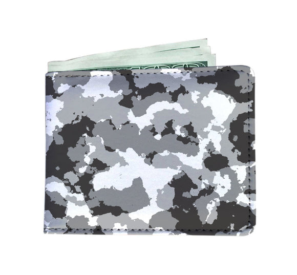 Snow Camo Mens Wallet