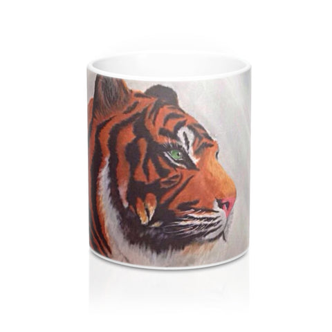 Tiger Printed Mug 11oz