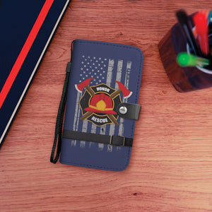 Fire Fighter Wallet Phone Case