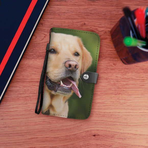 Labrador Dog Wallet Phone Case