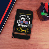 Super Cool Bus Driver Wallet Phone Case