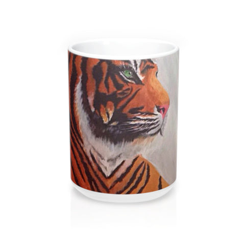 Tiger Printed  15oz Mug