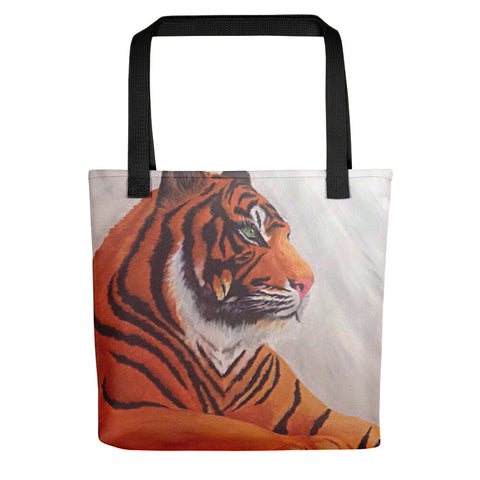 Tiger Tote bag Available in Yellow/Black/Red