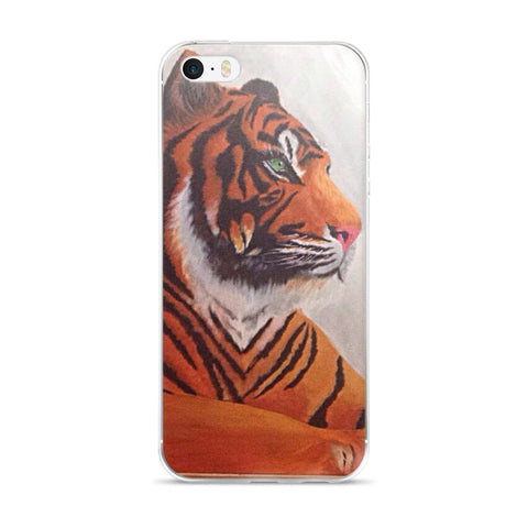 Tiger IPhone 5/5s/Se, 6/6s, 6/6s Plus Case