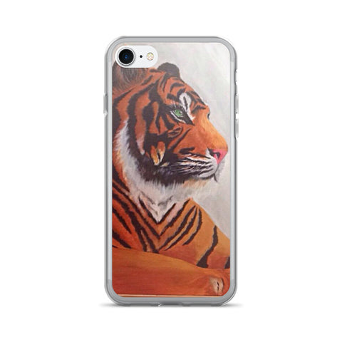 Tiger IPhone 7/7 Plus Case