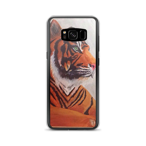 Tiger Design Samsung Galaxy S8 & S8+ Phone Cases