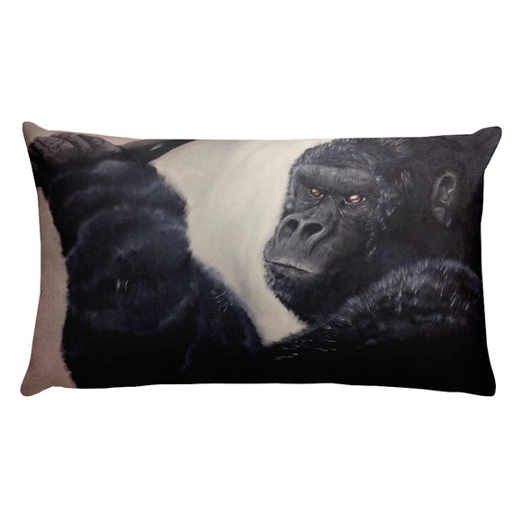 Gorilla Rectangular Pillow With Insert