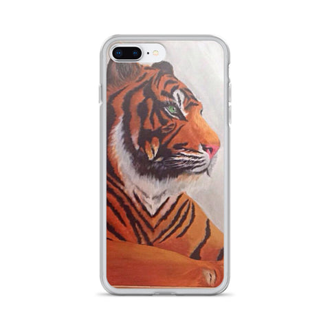 Tiger Design Iphone 7/8, 7 Plus 8 Plus and Iphone X Phone Case