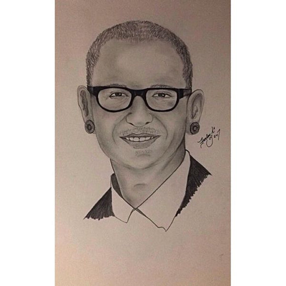Chester Bennington Portrait