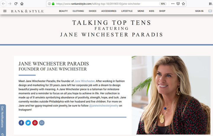 Rank and Style - Talking Top Tens featuring Jane Winchester Paradis