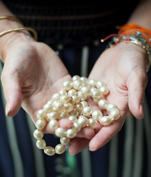 Pearls Reinvented. Mine are Chanel :)