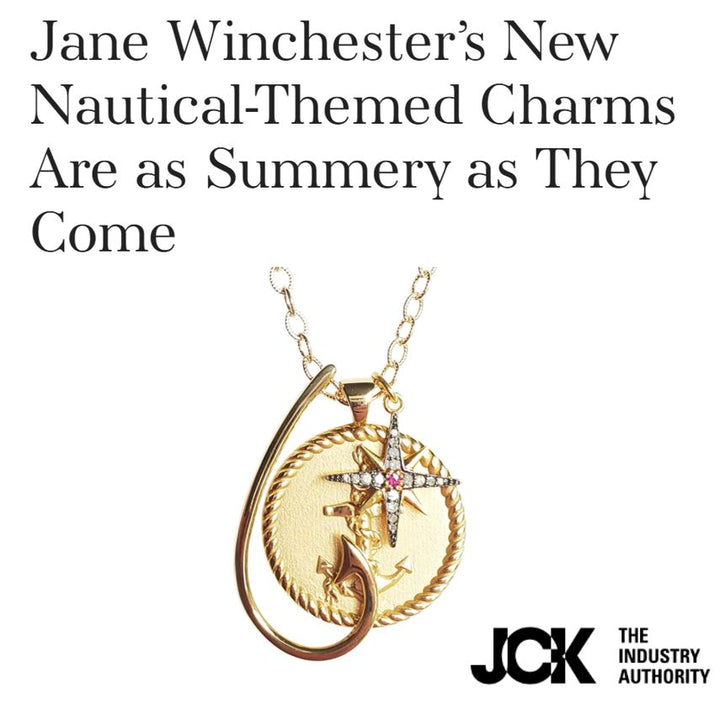JCK Jewelry Industry Authority Features Jane Winchester's New Summer Nautical-Themed Charms