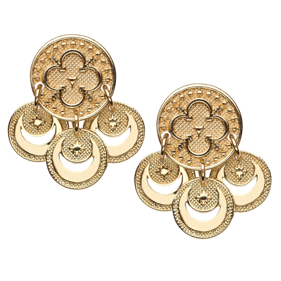 LOVE Petite Coin Earrings