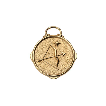 SAGITTARIUS JW Small Zodiac Pendant Coin - Nov 22 - Dec 21
