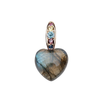 Baby LOVIES Labradorite Heart (LOVE Collection)