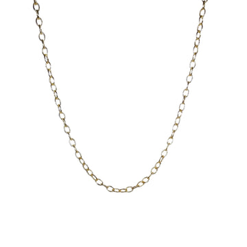 Mini Twist 36 inch Link Gold Plated Chain