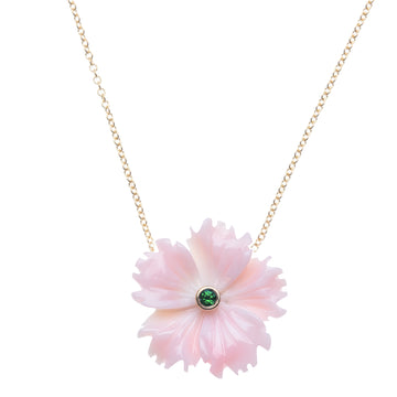JOY Conch Shell Flower Necklace