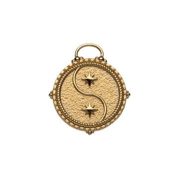 GEMINI JW Small Zodiac Pendant Coin - May 21 - Jun 20