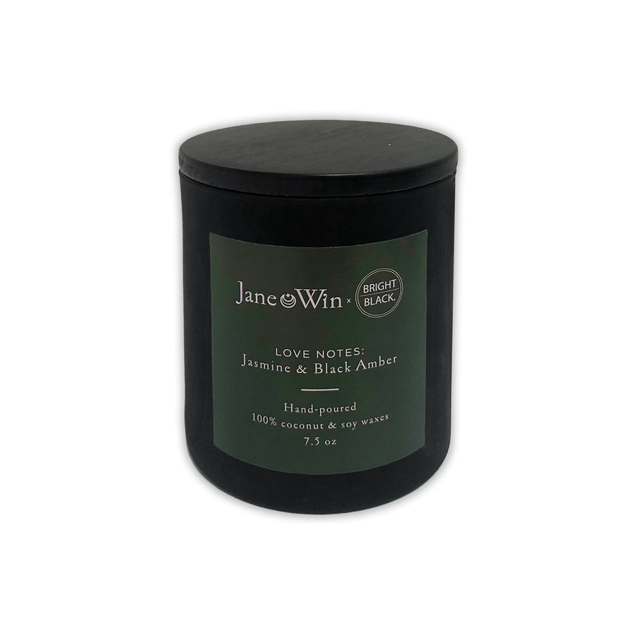Jane Win x Bright Black LOVE Candle