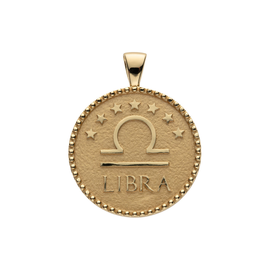 LIBRA JW Zodiac Pendant Coin - Sep 23 - Oct 22