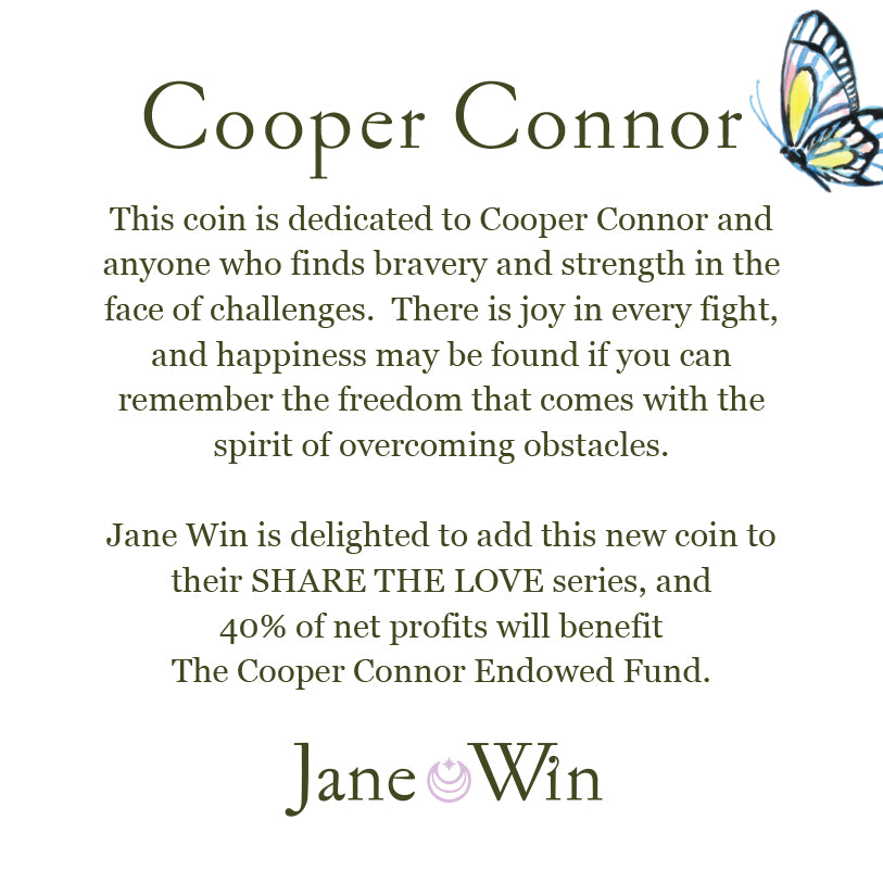 COOPER CONNOR JW Original Pendant Coin