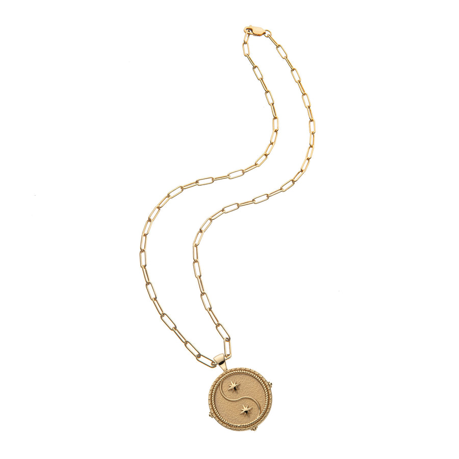 GEMINI JW Zodiac Pendant Coin - May 21 - Jun 20