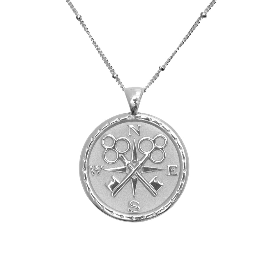 FOREVER JW Original Pendant Coin in Silver