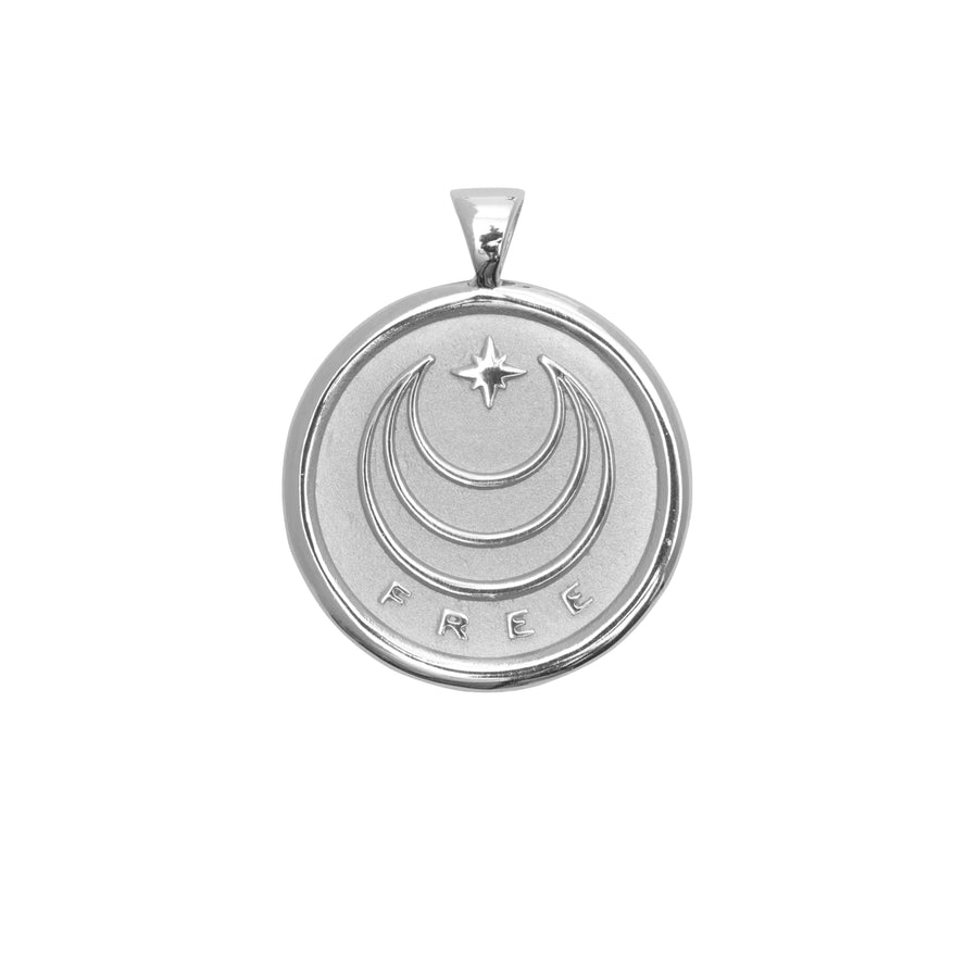 FREE JW Original Pendant Coin in Silver