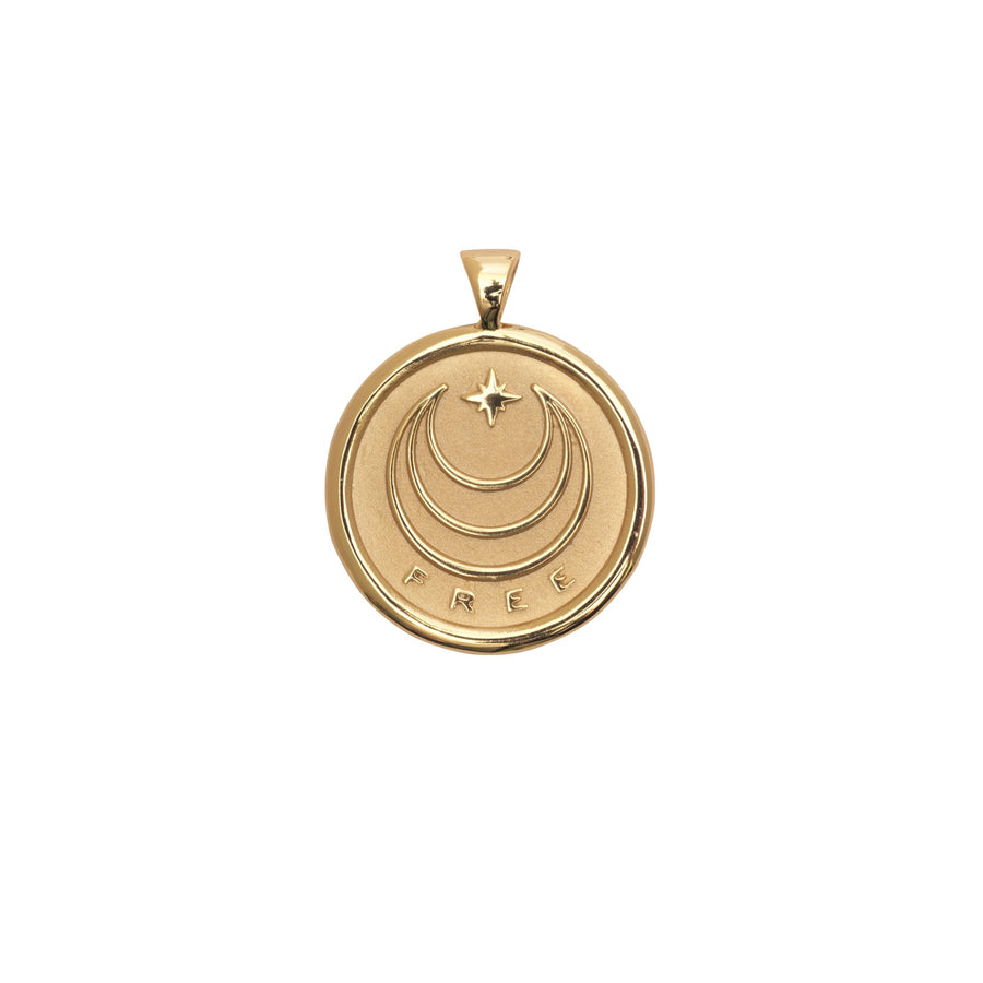FREE JW Small Pendant Coin