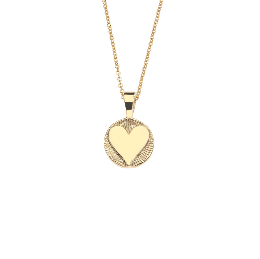 Baby Hearts Find Me Love Pendant 10k Gold