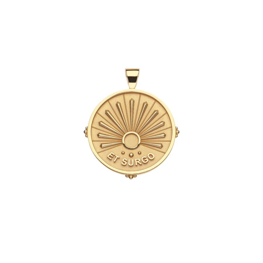 STRONG JW Small Pendant Coin (Et Surgo)