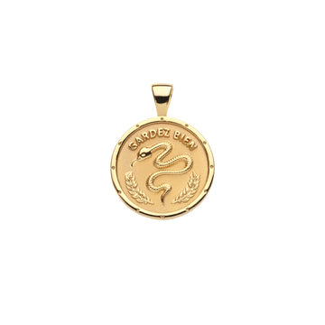 PROTECT JW Small Pendant Coin