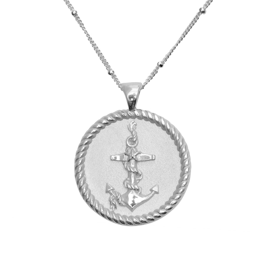 STRONG JW Original Pendant Coin in Silver