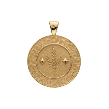 VIRGO JW Zodiac Pendant Coin - Aug 23 - Sep 22