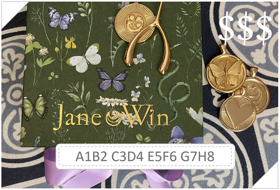 Jane Win Gift Card