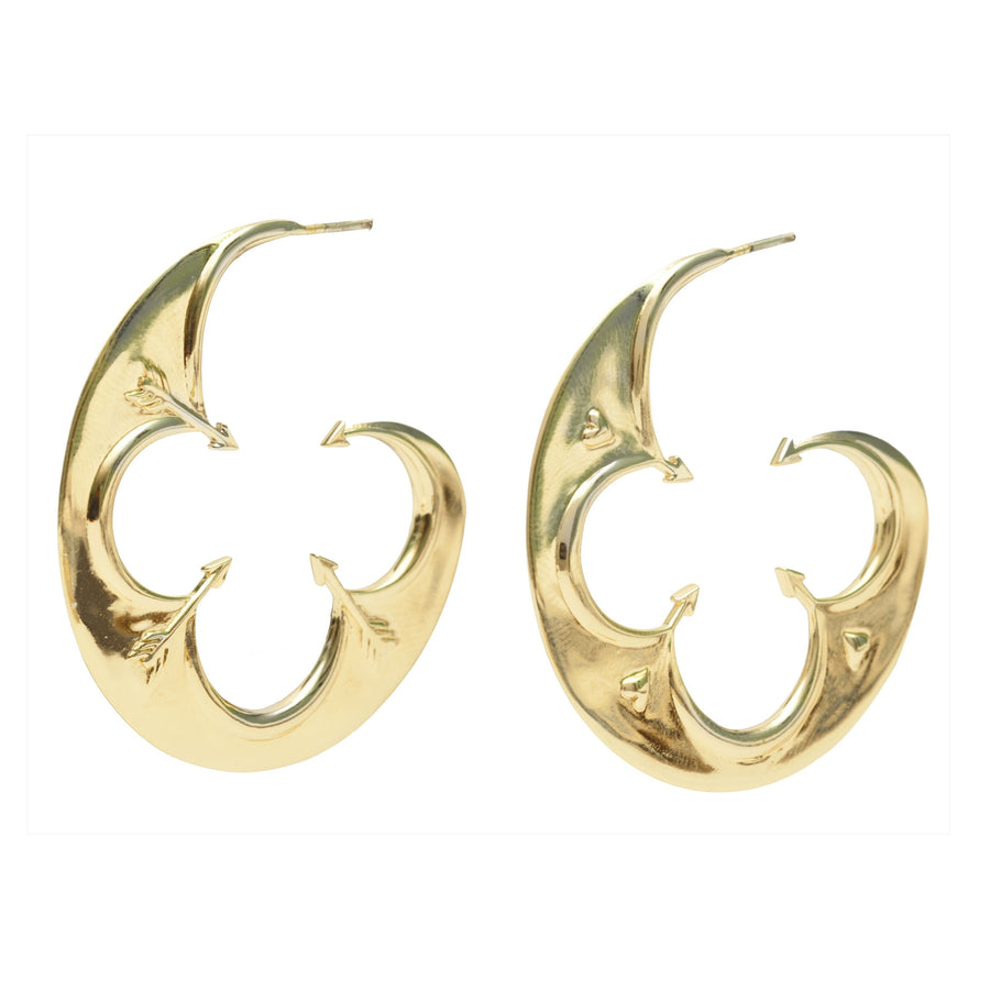 LOVE JW Large Hoop Earring