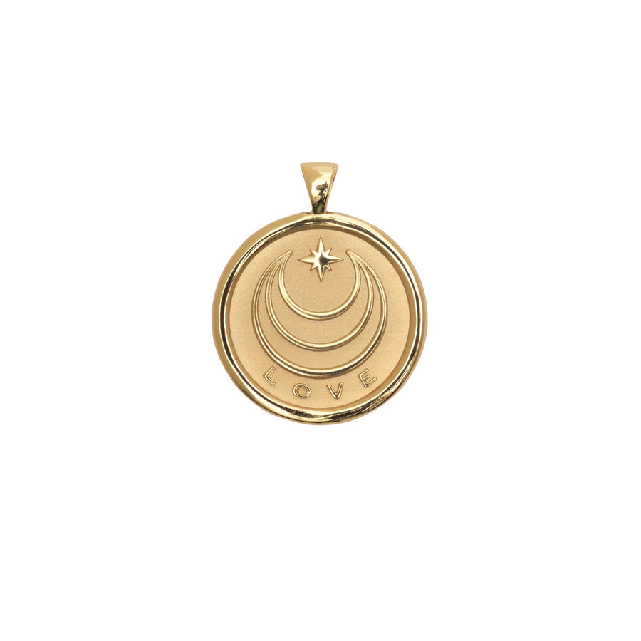 LOVE JW Small Pendant Coin