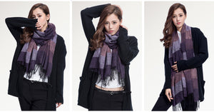 Fashion Brand Winter Scarf Women Designer Pashmina Shawls