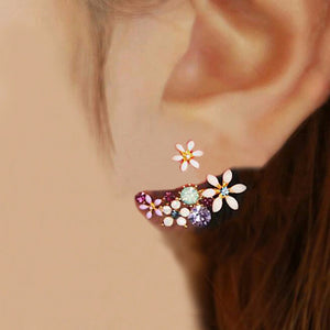 Flower earrings Female Jewelry Wholesale