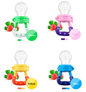 10 Pcs Baby Pacifier Fresh Food Milk Nibbler Feeder Safe Baby Supplies Nipple Teat Pacifier Bottles