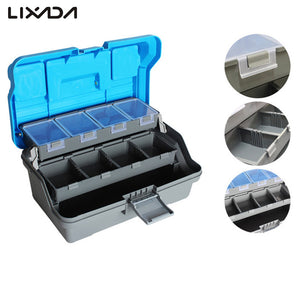 32*16*15cm 3 Layer Top Quality Fishing Tackle Box Big Fishing Lure Tackle